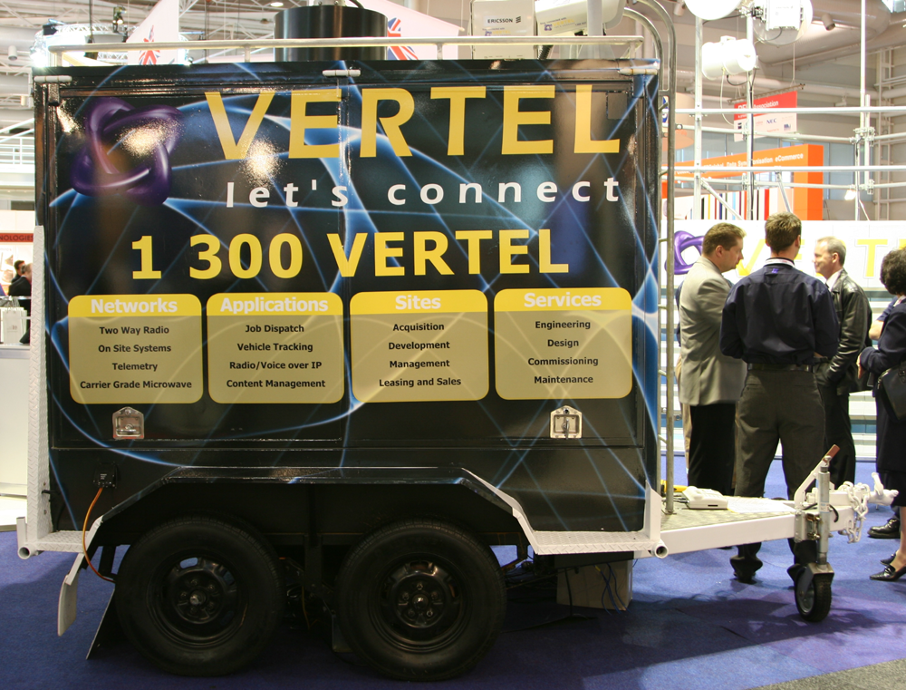 Vehicle-based events. Custom build. Fleet graphics. Vehicle Wraps. Trailer wraps. Vertel. Sydney Convention Centre Darling Harbour.