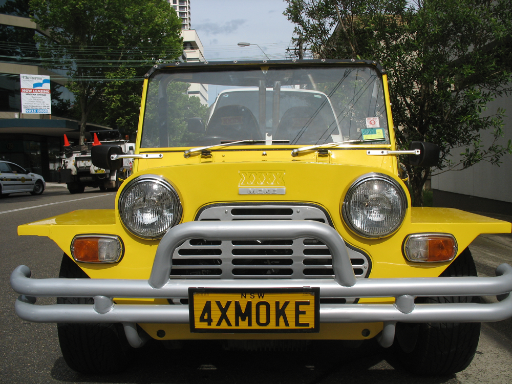 Vehicle-based events. Custom build. Fleet graphics. XXXX Mini Moke. 4XMOKE. St.Leonards NSW.